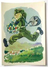 Cartolina Militare Umoristica - Vorrei Volare Dalla Mia Bella