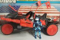 Original 1986 GI JOE Cobra STUN Complete with MOTOR VIPER ARAH Vehicle Repro prt