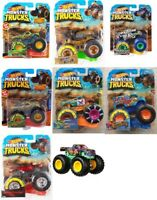 HOT WHEELS MONSTER TRUCKS FYJ44 SCALE 1:64 ASSORTMENT
