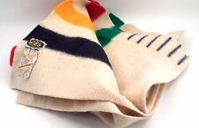 1995 Hudson's Bay 325 Year Anniversary 6 Point 100% Wool Classic Stripe Blanket