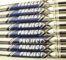8 Project X between 5.5 & 6.0 3-PW Steel Taper Tip iron set Shafts ProjectX