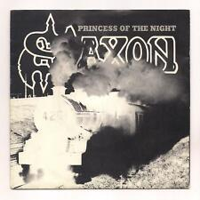 """SAXON - Princess of the night / Fire in the sky 45 ORG 1981 France PS 7"""" NWOBHM"""