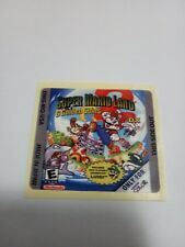 LABEL / STICKER FOR NINTENDO GAMEBOY SUPER MARIO LAND 2 DX GAMEBOY (NOT GAME)