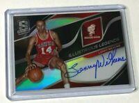 2019-20 Panini Spectra Basketball LENNY WILKENS autograph #22/99