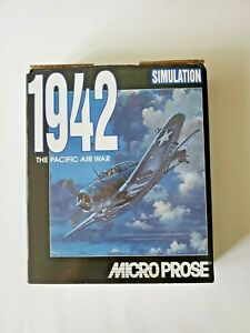 1942 The Pacific Air War Simulation PC Game Microprose Big Box - Complete