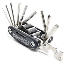 15In1 Mountain Bike Multifunctional Tool Cycling Equipment Steel Tyre Repair Kit