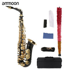 ammoon Saxophone Sax EB Alto E Flat Brass Lacquered Gold 82z Key Type Z3j4