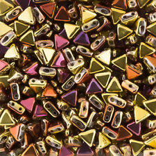 Kheops® Par Puca® Czech Glass Beads California Gold Rush 6mm 9g Tube (K95/8)