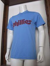 S Men Majestic Cool Base Philadelphia Phillies MLB Baseball Jersey Shirt NWT