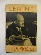 ANONYME. Lénine et la presse.