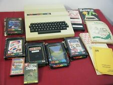 RARE VINTAGE DRAGON 32 BUNDLE COMPUTER GAMES AND BOOKS UNTESTED