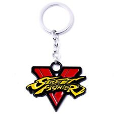 Street Fighter V 5 Porte Clés Metal Logo - 5,5 cm