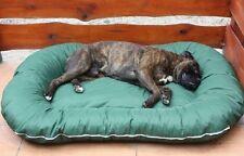 Panier pour chien couverture déhoussable 120x90x17 vert