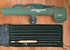 March Brown Fly Rod L 905-6 and Sage 1201 Fly Reel Set with Carrying Case