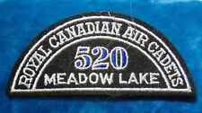 CANADA Royal Canadian Air Cadets MEADOW LAKE 520 squadron shoulder flash