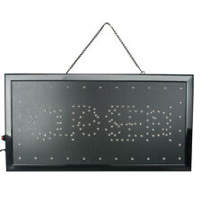 "Led Open Sign Hang 9.8*20.47"" Neon Light Outdoor Business Lighting Shop Display"