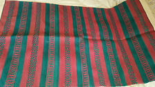 Punjab India Dhurree Durree Durry Flat Hand Woven Rug 3ft X 5ft
