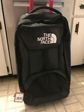 New w tags The North Face Accona 26 Rolling Travel Suitcase Luggage Black Bag