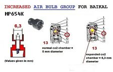 MP-654K BAIKAL UPGRADED AIR-BULB INTERNAL DIAMETER INCH 0,248-mm 6,3