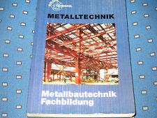 1 Europa Lehrmittel Fachkunde Metalltechnik