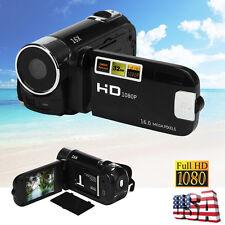 "2.7"" Screen HD 1080P 16MP 16X Digital Zoom Video Camcorder Camera DV USB/SD"