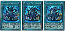 YUGIOH~SDRE-FR023: Appel De L'atlantide (Call of the Atlanteans) Lot de 3 cartes