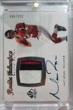 Matt Ryan 2008 SP Authentic Rookie Patch Auto Autograph #238/499