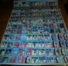 1979-80 O-PEE-CHEE FIRST RUN  UNCUT COMPL. 3 SHEET SET 396/396 GRETZKY RC
