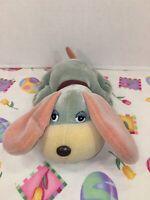 "VINTAGE-VERY RARE-9"" Sanrio Tonka Hello Color Pound Puppies Plush Bath Toy EUC"