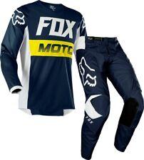 Fox 180 Kids Motocross MX Offroad Race Kit Gear Fyce Navy Youth