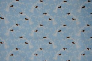 One yard  Simon + Kabuki, for Quilting Treasures - birds - 100% cotton