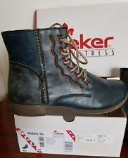 Bottes et bottines rouge Rieker pour femme | eBay