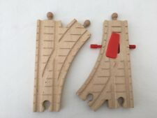 Mechanical Junction/Switch/Point Track (Wooden Railway Train ELC Thomas Brio)