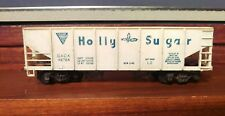RARE TYCO MANTUA HOLLY SUGAR HO Operating Hopper Car w/ SILVER Metal Frame