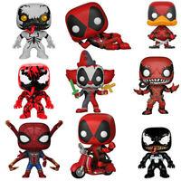 Playtime Deadpool VENOMPOOL Avengers Iron Spider Man Funko Pop Figures Toys