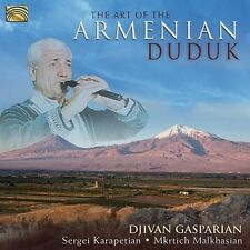 Djivan Gasparian, Dj - Art of the Armenian Duduk [New CD]