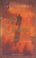 Libro - Lev Grossman - Codex - Copertina rigida    usato