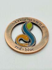 Streamsong Golf Resort Florida Copper Cutout Milled Ball Marker Coin Rare Mint