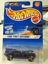 Hot Wheels Jaguar D-Type 1998 First Editions Blue