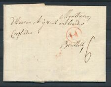 BRIEF ROTTERDAM - BRUXELLES 7 DEC 1764, GRENSST. H, PORT 6 DÉC   Zj508
