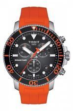 Tissot SEASTAR 1000 Chrono Black Dial Rubber Band Men's Watch T120.417.17.051.01