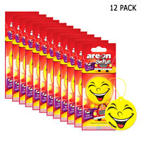 12 Pack Hanging Air Freshener Office Home Fragrance Car Mirror No Smoking Scent