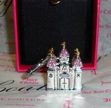 New Juicy Couture Castle Charm For Bracelet,Necklace,Handbag Keychain