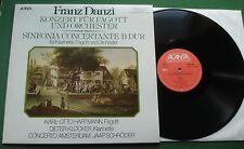 Franz Danzi Konzert Fur Fagott + Concerto Amsterdam Jaap Schroder 40.23 144 LP
