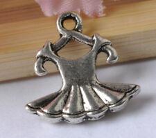 FREE SHIP 20pcs tibetan silver clothes pendants SH42