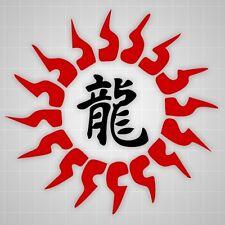 Chinese Sun decal Chinese Symbol Dragon,Martial Arts taekwondo wall sticker