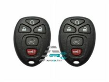 2 New Keyless Entry Remote Key Fob Fits Malibu Cobalt LaCrosse 22733524 KOBGT04A
