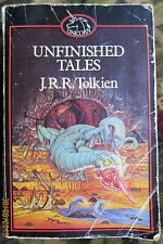 Unfinished Tales J. R. R. Tolkien, Paperback 1982 World of The Lord of the Rings
