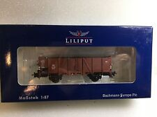 Liliput L235012 Open Goods Wagon Om 21 DB Epoche III H0 NewT48 Post