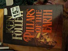 Ken Follett: Pillars of the Earth. 1989 Hardcover First edition, Banned Book